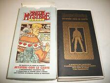 MARTIN MYSTERE POKER:MAZZO 50 CARTE POKER&MYSTERI CON LE CARDS!ALFREDO CASTELLI!