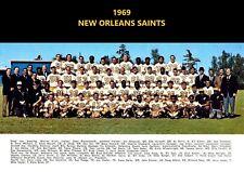 1969 NEW ORLEANS SAINTS 8X10 TEAM PHOTO FOOTBALL PICTURE NFL