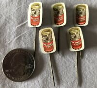 Lot of 5 Maxwell House Coffee Holland Dutch VTG Stickpins Pin Pinback #37351