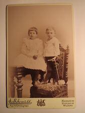 Mannheim - Pforzheim - Wildbad - 2 kleine Kinder mit Spielzeug Mädchen Junge KAB