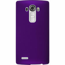 Ultra Slim Rubber Matte Grossy Hard Back Phone Case Cover For LG Vaious Phones