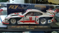 Fly A146 Ninco Ford Capri RS scalextric  Turbo Zolder scx DRM 1981 ninco