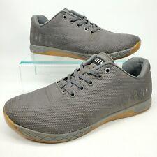 NOBULL Athletic Trainers Shoes Black Gray Pebble Men's Size 10