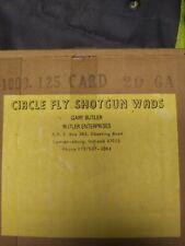 "Circle Fly Nitro cards 20 Gauge 1000 box .125"""