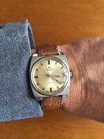 Introvabile Orologio Berios Swiss Made Vintage Carica Manuale movimento FHF ST96