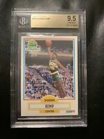 1990-1991 Fleer Shawn Kemp RC #178 BGS 9.5! HOF!! GEM MINT!! LOW POP REPORT!