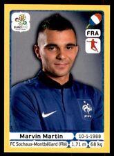 Panini Euro 2012 (Swiss Platinum Edition) Marvin Martin (France) No. 473