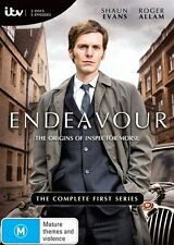 Endeavour (DVD, 2013, 3-Disc Set) The Complete First Series