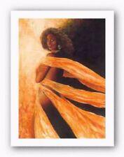 Amorous Signed Samuel Byrd African American Art Print 17x25