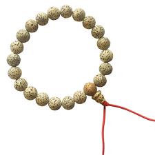 Star & Moon Lotus Seed Wrist Mala Bracelet Beads Hand Made Nepal Yoga FAIR TRADE