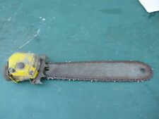 "Vintage McCULLOCH Chainsaw Chain Saw OLD Part LOG SPIKE with 20"" BAR"