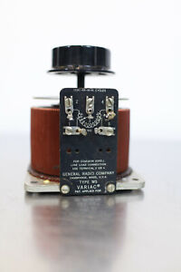General Radio / GenRad W5 Variac // 0 - 115VAC 8 Amp // AutoVariable Transformer