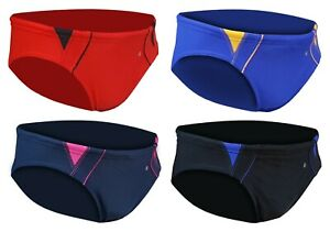 ACCLAIM Fitness Dubbo Brief Trunks Boys Tie Cord Nylon Lycra Swimming Seconds