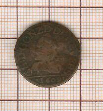 Double tournois (et non liard)  Charles de gonzague 1609 Charleville