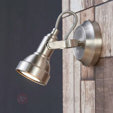 LED-Spot Perseas Nickel Matt Strahler Wand Decke LED-Lampe Lampenwelt schwenkbar