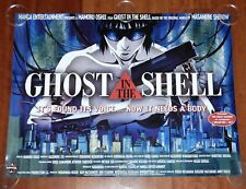 ORIGINAL MOVIE POSTER GHOST IN THE SHELL 1995 UNFOLDED ADVANCE UK QUAD CROWN