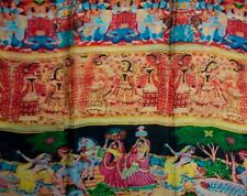 Tolani 15103 Madhubani Multi 100% Modal Scarf