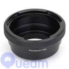 Pentacon 6 Kiev 60 Lens to Nikon (D)SLR Camera Adapter D810A D7200 D5500 D750