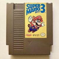 Super Mario Bros 3 - Authentic Nintendo NES Game - TESTED and Cleaned