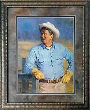 Reagan by Andy Thomas US President, Republican, Framed Print.