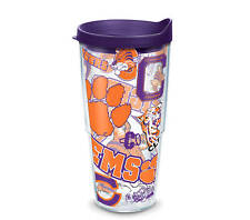 Clemson Tigers Tervis Travel Tumbler 24 ounce