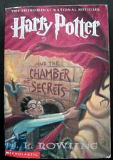 HARRY POTTER and the Chamber of Secrets Book by J. K. Rowling Scholastic Ed 1999