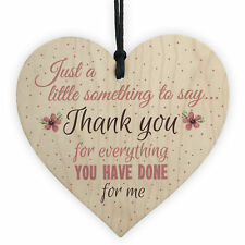 Thank You Gifts Teacher Teaching Assistant Nursery Childminder Friendship Signs