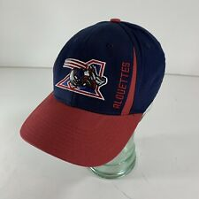Reebok Montreal Alouettes LCF Flex Fit Hat Cap Canadian Football Blue S/M