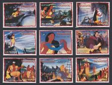 Mint Never Hinged/MNH Disney Guyanese Stamps