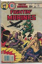 Charlton Silver Age Comics Fighting Marines, 168 VF-