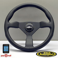 Nardi Personal GRINTA Steering Wheel Black Leather 350mm 6430.35.2071
