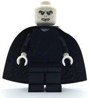 LEGO LORD VOLDEMORT MINIFIGURE HARRY POTTER HOGWARTS FIGURE W/ CAPE