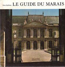 PIERRE KJELLBERG LE GUIDE DU MARAIS + PARIS POSTER GUIDE