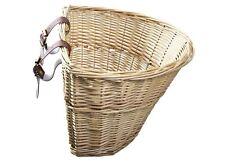 ProSource Wicker Front Handlebar Bike Bicycle Basket Cargo Tool