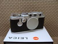 "Leitz Wetzlar - Leica IIIf RD Gehäuse/ Body "" Betriebskamera No 328 ! "" - RAR!"