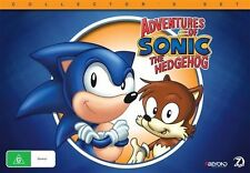 Sonic The Hedgehog (DVD, 2015, 7-Disc Set) - Region 4