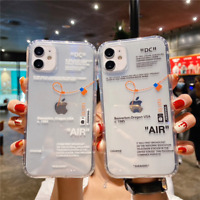 iPhone 12 11 Pro Max 6 7 8 Plus X XS XR Off Sports brand phone case