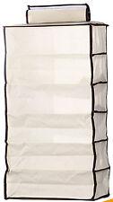 6 tier non tissé placard unité de stockage pour Pantalon T-shirts sacs linge serviettes