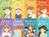 Anne Of Green Gables 8 Books Children Collection Paperback By Lucy Maud Montgome