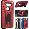 For LG G5 G6 V30 Phone Case Shockproof Rubber Hybrid Armor Back Stand Cover