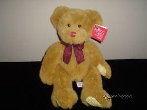 Russ Berrie Garland Bear 14 Inch Plush 32293 Tags