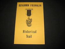 Benjamin Franklin Historical Trail Brochure