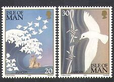 Isle of Man 1995 Europa/Peace/Freedom/Doves/Wave/Castle/Barbed Wire 2v (n37996)