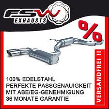 FSW Sport Auspuffanlage komplett ab Kat VW Golf 5 GTI 147+169kW 76mm (Racingline
