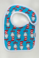 """Limited Edition """"Cat in the Hat"""" bib - genuine Eatmyfeet product"""