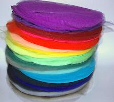 10 Tüllkreise für Gastgeschenke zur Hochzeit, Taufe, Feier, freie Farbwahl