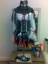 PIRATE  Lady wench under bust pull in  corset costume