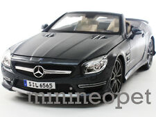 MAISTO 36198 2012 MERCEDES BENZ SL 65 AMG CONVERTIBLE 1/18 45th ANNIVERSARY GREY
