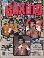 1977 Feb. International Boxing,magazine,Muhammad Ali, Ken Norton, George Foreman