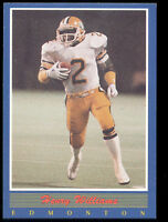1988 Henry Gizmo Williams Jogo CFL Rookie Card #45